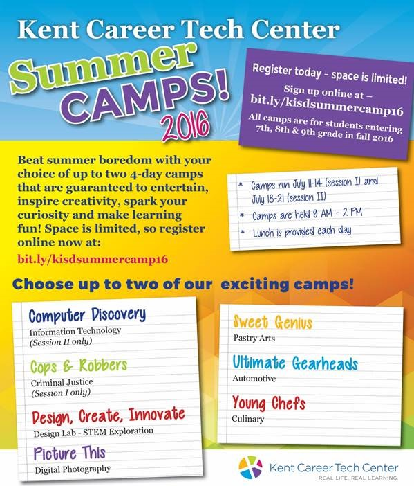 KCTC summer camps